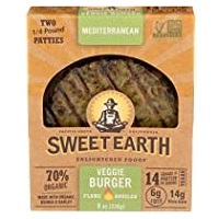 Sweet Earth Mediterranean Veggie Burger, 8 oz MAIN