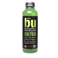 The Bu Honeydew Kombucha, 14 oz. THUMBNAIL