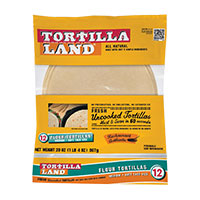 Tortillaland Uncooked Flour Tortillas,  20oz MAIN