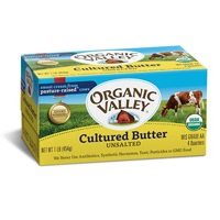 Organic Valley Unsalted Butter, 16oz. LARGE