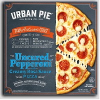 Urban Pie Thin Crust Uncured Pepperoni Pizza, 18.55oz. MAIN