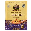 Village Harvest Organic Lemon Rice, 8.5oz. THUMBNAIL