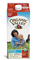 Organic Valley Whole Milk, 1/2 Gal. LARGE