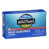 Wild Planet No Salt Added Wild Sardines, 4.4oz. THUMBNAIL