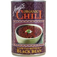 Amy's Organic Black Bean Chili, 14.7oz. THUMBNAIL