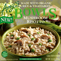 Amy's Gluten Free Mushroom Risotto Bowl, 9.5oz. MAIN