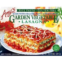 Amy's Vegetable Lasagna, 9.5oz. LARGE