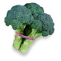 Organic Broccoli Bunch, 1.25lb. LARGE
