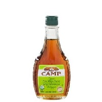 Camp Organic Maple Syrup, 8.5oz. LARGE