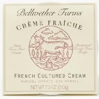 Bellwether Creme Fraiche, 7.5oz. LARGE