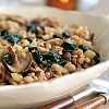 *Farro with Kale and Mushroom