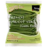Earth Exotics French Green Beans, 8oz. LARGE