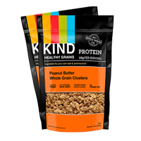 Kind Peanut Butter Whole Grain Clusters, 11oz. LARGE