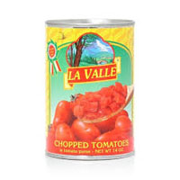 La Valle Chopped Tomatoes, 14 oz. LARGE