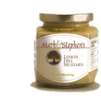 Mark & Stephen's Lemon Dill Mustard, 10oz. MAIN