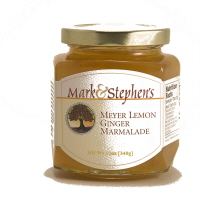 Mark & Stephen's Meyer Lemon Ginger Marmalade, 12oz. LARGE