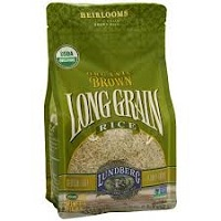 Lundberg Organic Long Grain Brown Rice, 32oz LARGE