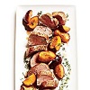 *Roast Pork Tenderloin with Thyme Scented Plums