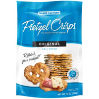 Snack Factory Original Pretzel Crisps, 7.2oz. LARGE