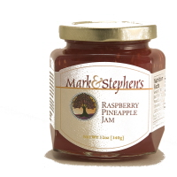 Mark & Stephen's Raspberry Pineapple Jam, 12oz. LARGE