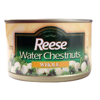Reese Water Chestnuts, 8oz. LARGE