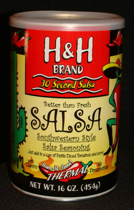 H&H Brand-Thermal Salsa LARGE