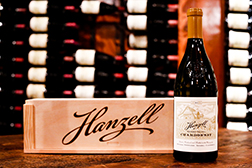 Z-2013 Hanzell Vineyards Chardonnay with Branded Wood Box MAIN
