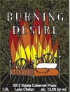 Collector Magnum Burning Desire Estate Cabernet Franc Mini-Thumbnail