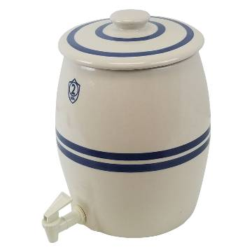 Ohio Stoneware 1 Gallon Fermenting Crock Kit MAIN