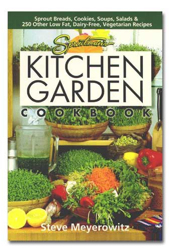Sproutman's Kitchen Garden Cookbook THUMBNAIL