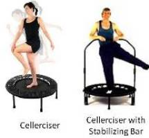 The standard Cellerciser is available 2 Kit choices.   1) Cellerciser Kit 2) Cellerciser PLUS Stabalizing Bar Kit