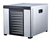 "Samson ""Silent"" 10 All Stainless Steel Dehydrator with Digital Controls  10 Stainless Steel Trays & Glass Door  Quiet an THUMBNAIL"