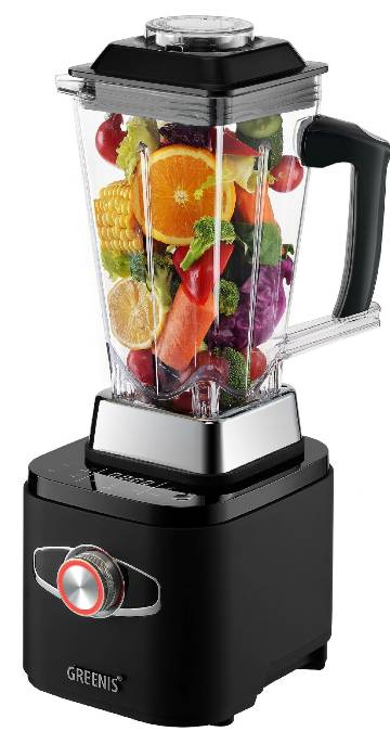 Greenis FGR 8830 Smart Power Blender - Bluetooth - BLACK	FGR8300_BLK MAIN