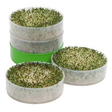 Deluxe Kitchen Crop Four Tray Seed Sprouter By Victorio VKP1200