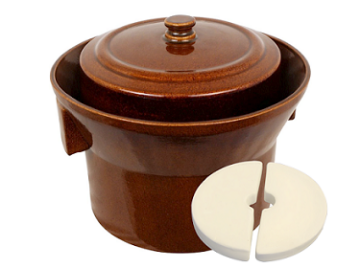 K&K Keramik Gartopf 5L German Fermenting Crock Pot - Form 1 MAIN