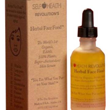 Herbal Face Food Skin Serum 2 oz Bottle MAIN