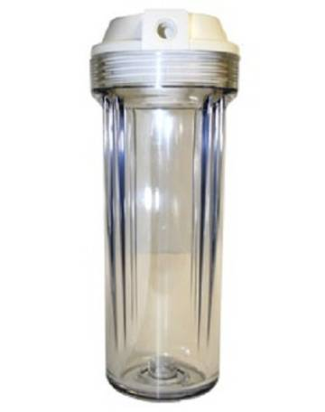 Pre-Filter Clear Filter Canister / Housing LARGE