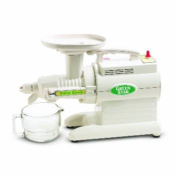 Green Star Twin Gear Masticating Juicer