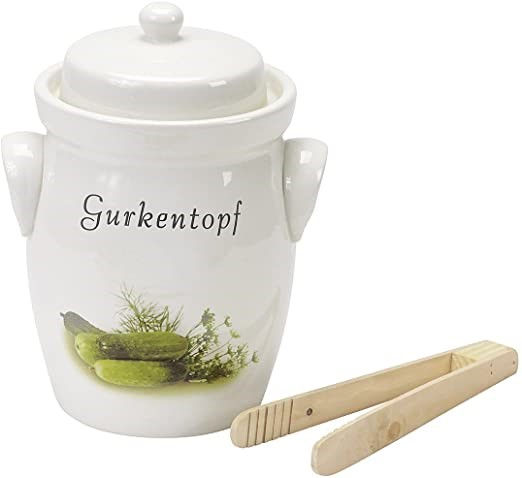 Gurkentopf 5 Liter Cucumber Pickle Pot THUMBNAIL