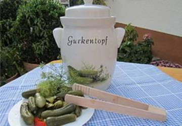 Gurkentopf 5 Liter Cucumber Pickle Pot MAIN