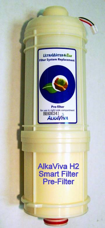 AlkaViva Smart FilterPreFilter for H2 Water Ionizers Fits Melody II, Athena H2 and Vesta H2
