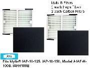 Replacement Hepa filter for Idylis B  Made To Fit Idylis® IAP-10-125, IAP-10-150  Compares to Model # IAF-H-100B, IAFH10 THUMBNAIL