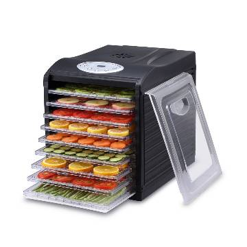"Samson ""Silent"" 6 Tray Dehydrator with Digital Controls  Quiet and Convenient  Model SB106B"