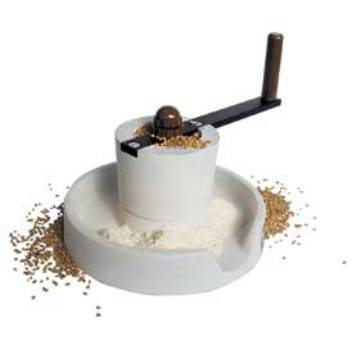 The Samap manual grain mill MAIN