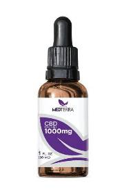 MEDTERRA CBD OIL 1000 mg Tincture THUMBNAIL