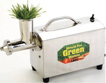 Miracle MJ575 Wheatgrass Juicing Machine with reverse switch MAIN