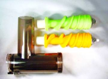 Healthy Juicer Electric Upgrade Kit  Includes Body, Green & Orange Augers   for Lexen Healthy Electric Juicer