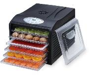 "Samson ""Silent"" 6 Tray Dehydrator with Digital Controls  Quiet and Convenient  Model SB106B_THUMBNAIL"