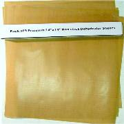 "Teflon non-stck sheets for  Dehydrators Fits 5 and 9 Tray Models  Teflon non-stick sheets 11"" x 14"" These are not made b THUMBNAIL"
