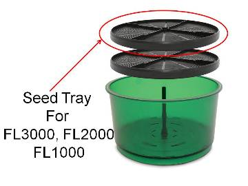 Replacement SEED TRAY Tribest FreshLife 3000   Part# FRESH05 MAIN